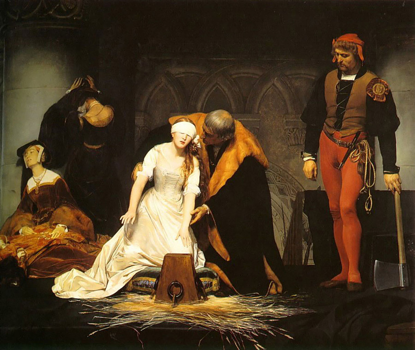 Delaroche,+Execution+of+Lady+Jane+Grey+1834