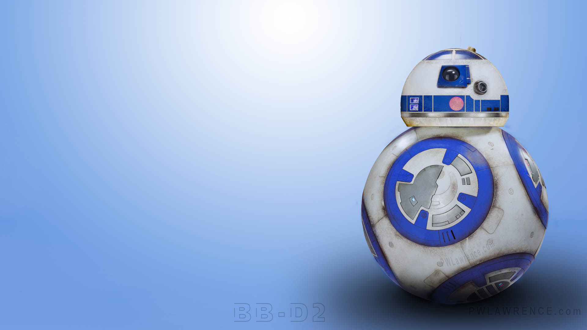 BB8 R2D2 Inspired BB D2 Droid Wallpaper Patrick Lawrences Art