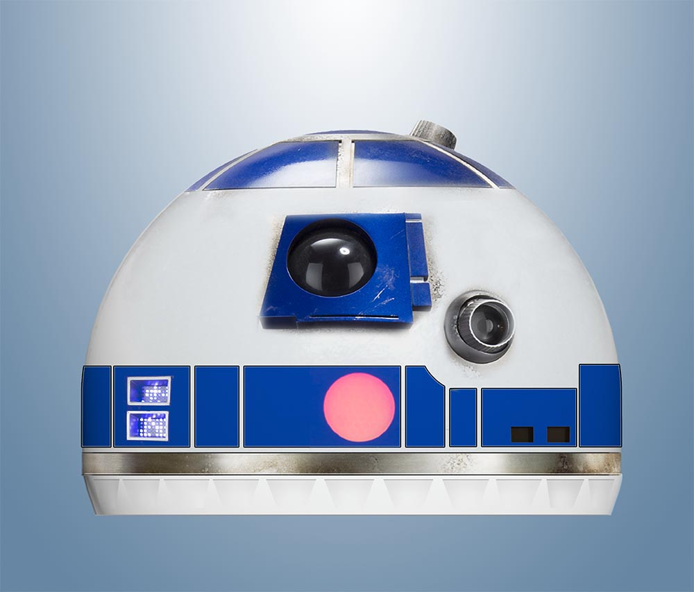 new BB8 style head