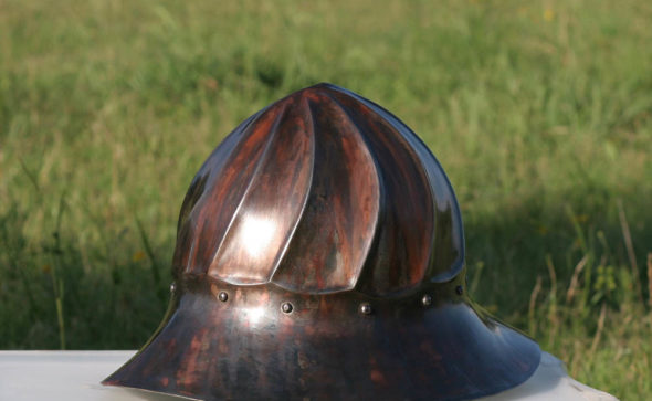 kettle helmet patina more sidet